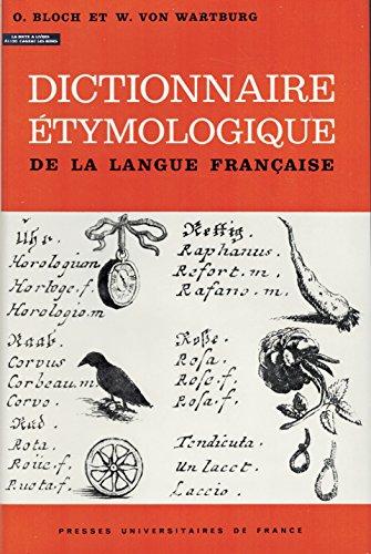 9782130395973: Dictionnaire �tymologique de la langue fran�aise