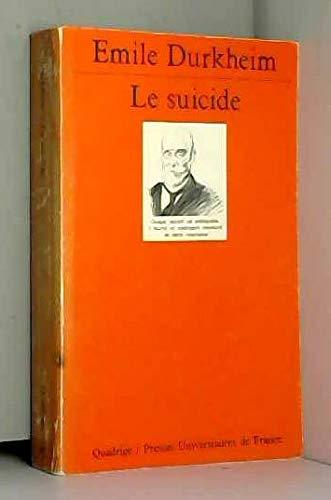 9782130396321: Le suicide