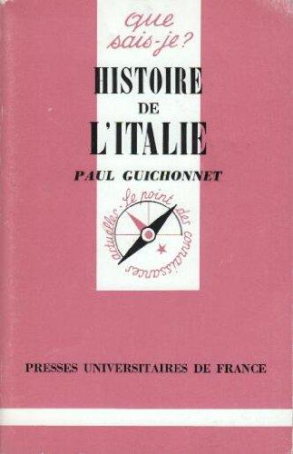 9782130396437: Histoire de l'Italie