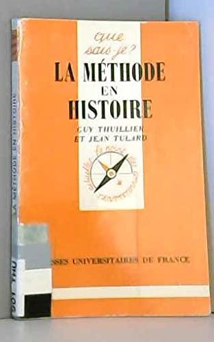 9782130397212: La Méthode en histoire