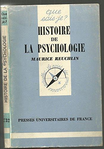 Histoire de la psychologie: Reuchlin, M