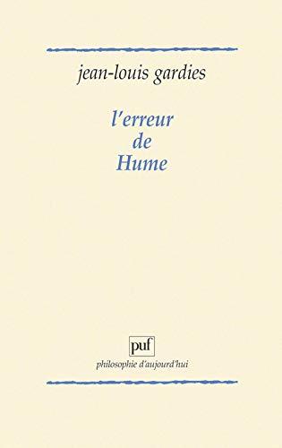 9782130399278: L'Erreur de Hume