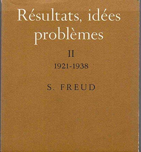 9782130399735: Résultats, Idees Problemes T2 1921-1938
