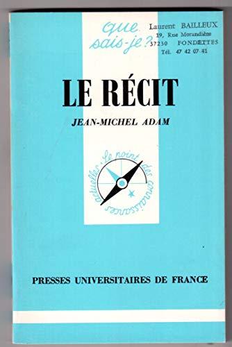 9782130399971: Le Récit (Que sais-je)