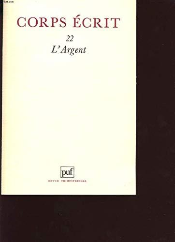 9782130400936: L'Argent