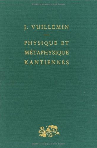 9782130401414: Physique et métaphysique kantiennes
