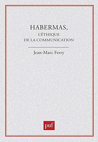 9782130401445: Habermas : L'éthique de la communication