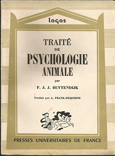 9782130408369: Traite de psychologie animale