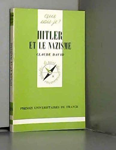 9782130413950: Hitler et le nazisme