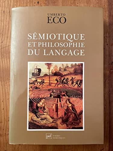 9782130414568: Sémiotique et philosophie du langage