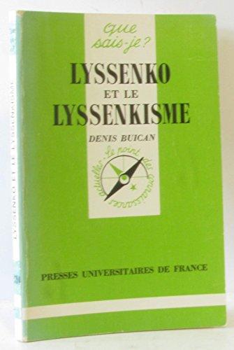 9782130415404: Lyssenko et le lyssenkisme