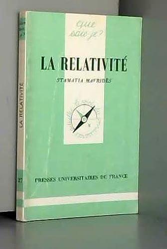 9782130417750: Relativite, La - # 37
