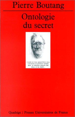 9782130418061: Ontologie du secret