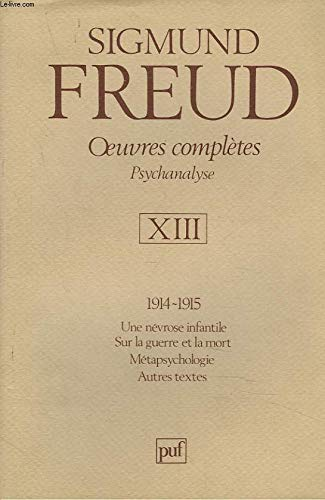 9782130418092: Oeuvres completes: Psychanalyse (French Edition)