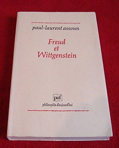 Freud et wittgenstein: Assoun, Paul-Laurent