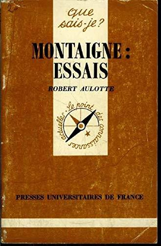 9782130419884: Montaigne,