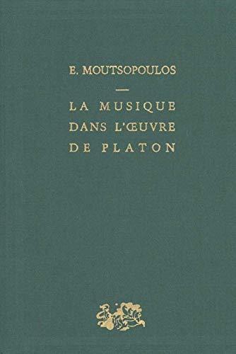 9782130420972: La Musique dans l'oeuvre de Platon