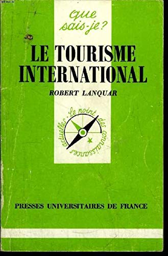 Le Tourisme international