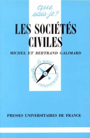 9782130423195: Les Sociétés civiles