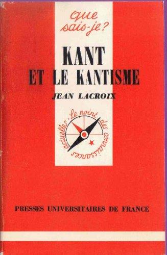 9782130423386: Kant et le kantisme