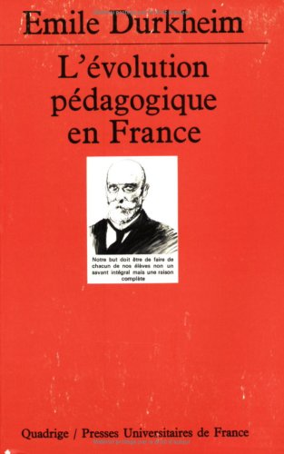 9782130424604: L'�volution p�dagogique en France