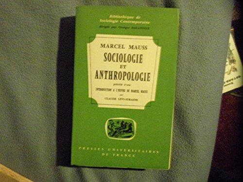 9782130425960: Sociologie et anthropologie