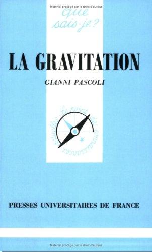 9782130426592: La Gravitation