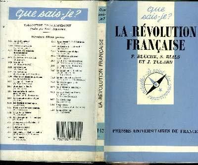 La Révolution française: Frédéric Bluche; Jean