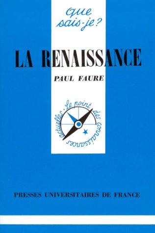 9782130427797: La Renaissance