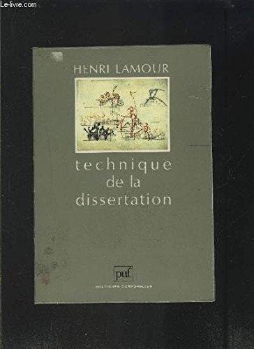 9782130428268: Technique de la dissertation dans les staps