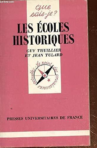 9782130428350: Les Écoles historiques
