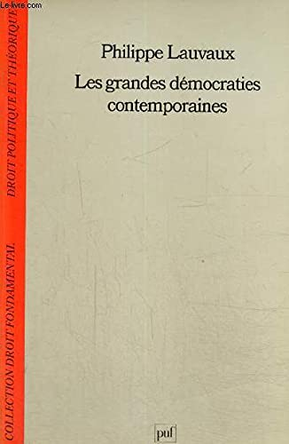 9782130428787: Les Grandes démocraties contemporaines