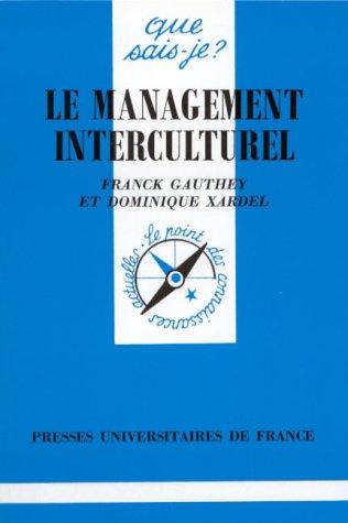 9782130431718: Le management interculturel