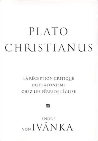 9782130431800: Plato Christianus