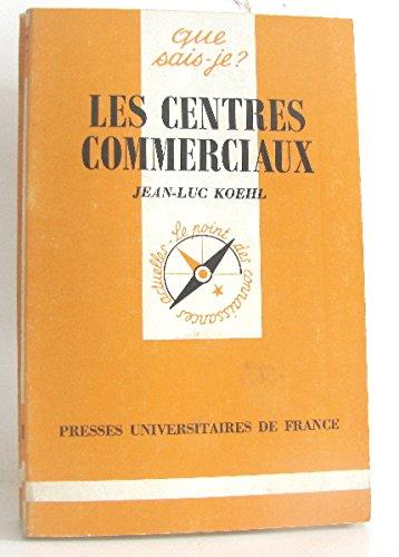 9782130432326: Les Centres commerciaux