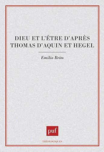 9782130432395: Iad - dieu & être d'après t.d'aquin & heg. (Théologiques)