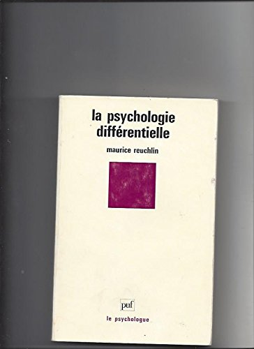 9782130432685: La psychologie differentielle