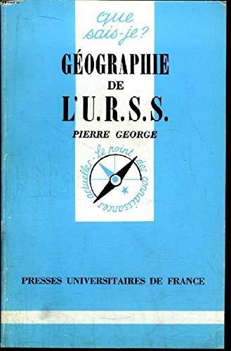 9782130434122: Géographie de l'URSS