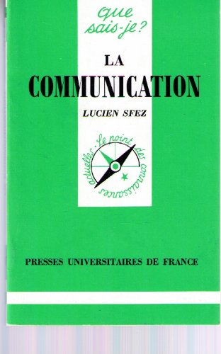 9782130435037: La communication