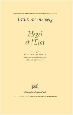 9782130435044: Hegel et l'État (Ancien prix éditeur : 47.00 € - Economisez 50 %)