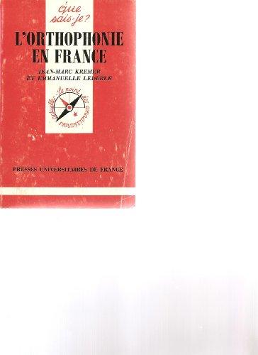 9782130435419: L'orthophonie en France