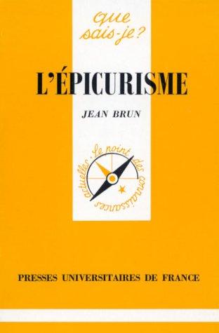 9782130435839: L'Epicurisme
