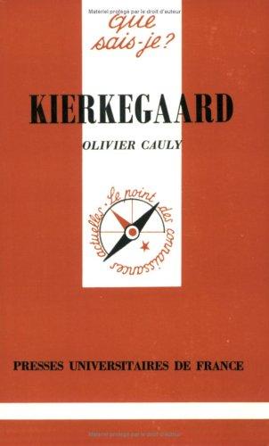 9782130437000: Kierkegaard