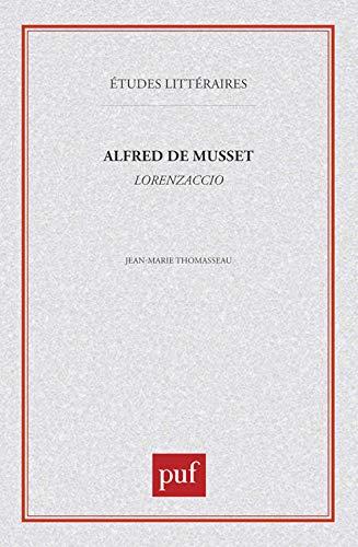 9782130437703: Alfred de Musset : Lorenzaccio