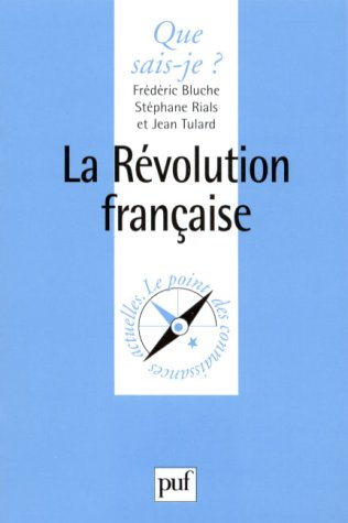 9782130437789: La Revolution Francaise (French Edition)