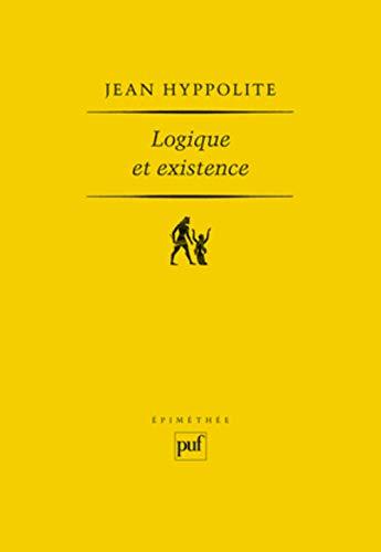 9782130438113: Logique et Existence