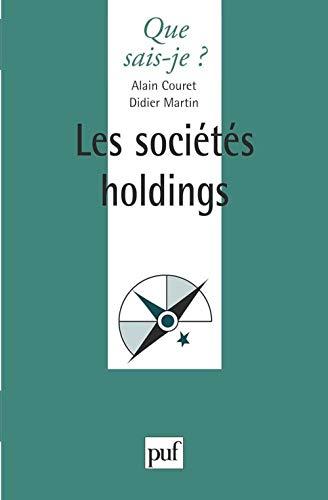 9782130438519: Les soci�t�s holdings