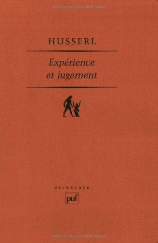 9782130438557: Expérience et jugement
