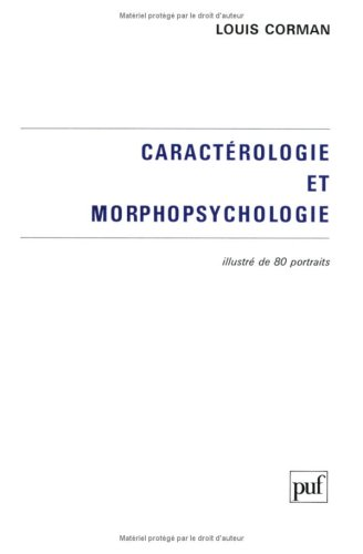 9782130438656: Caractérologie et morphopsychologie