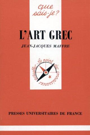 9782130439622: L'art Grec